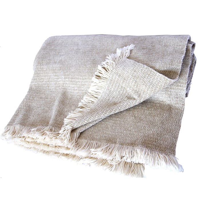 Picture of Stone Chenille Two-Tone Throw
