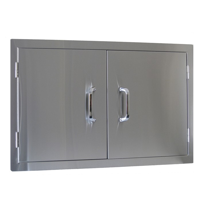 Picture of Stainless Steel Double Door