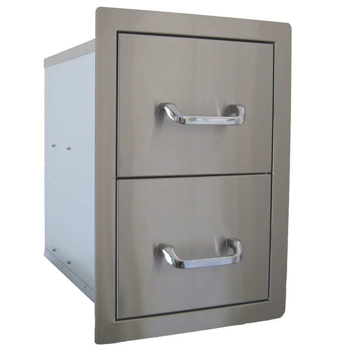 Picture of Stainless Steel Double Drawer