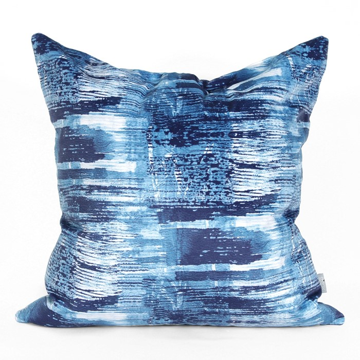 Picture of Bottle Brush Cushion Cover - Indigo