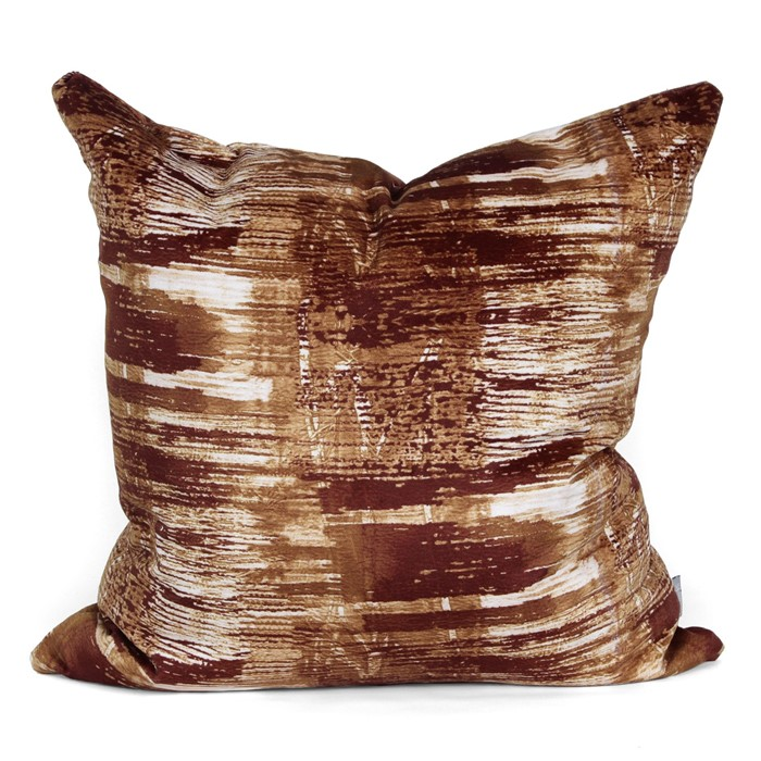 Picture of Bottle Brush Cushion Cover - Rust