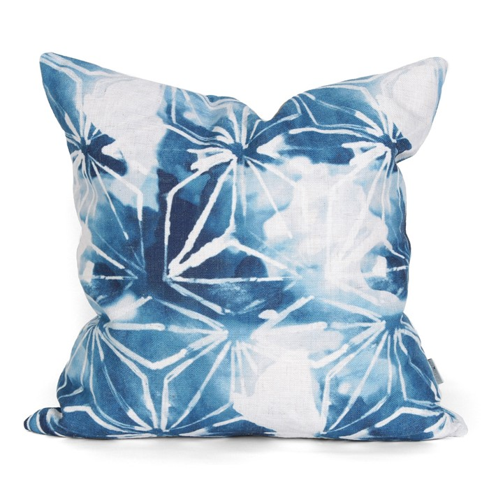 Picture of Lily Cushion Cover - Indigo