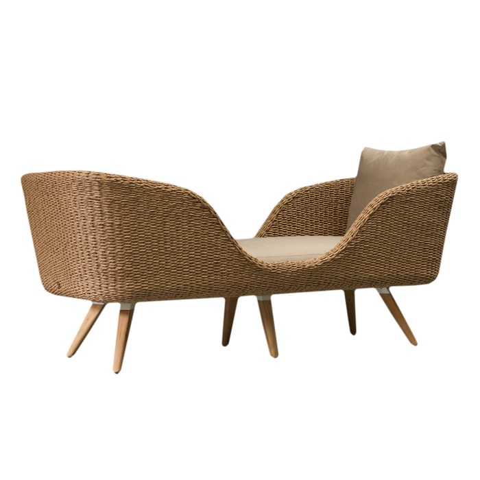 Picture of TRESSE MIRRORED CHAISE