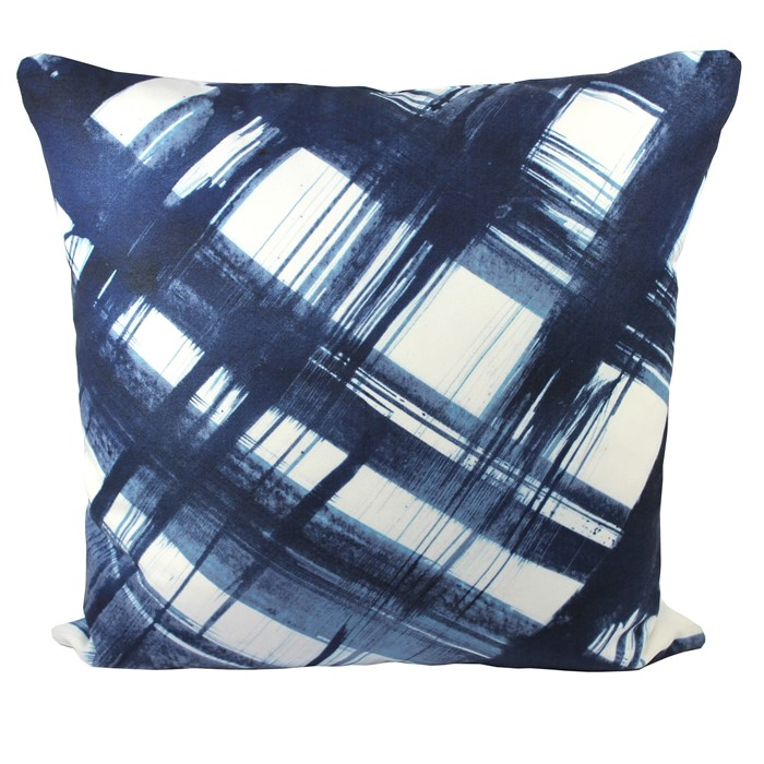 Picture of Brush Cushion Cover - Blue