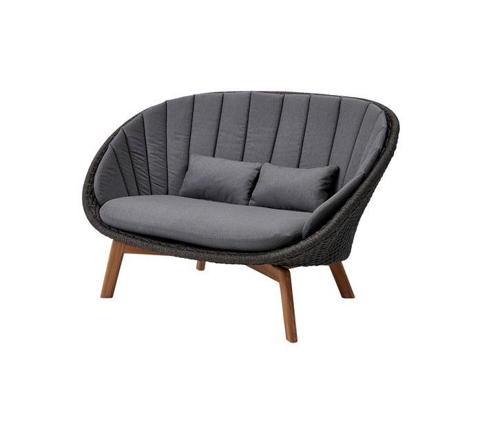 Picture of Peacock 2-seater sofa, Cane-line Soft Rope
