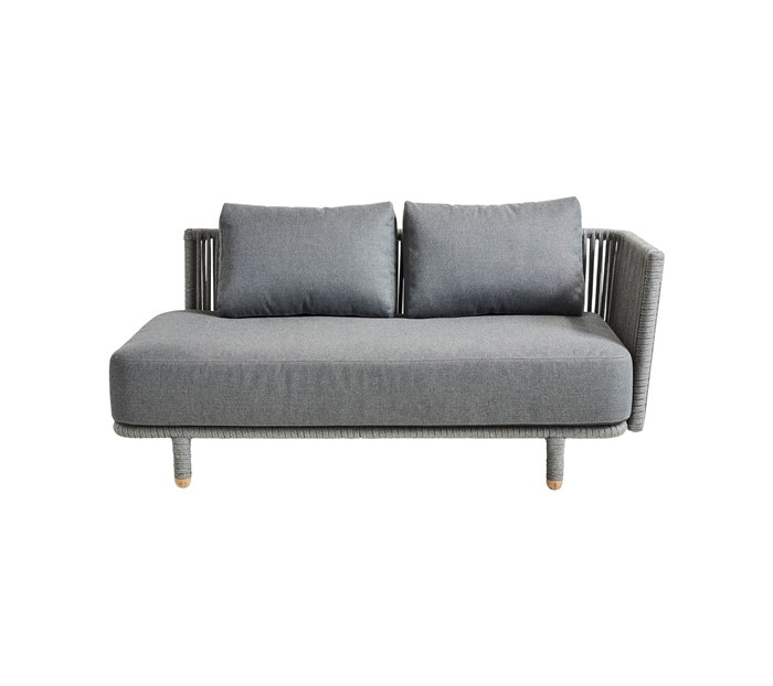 Picture of Moments 2-seater sofa, left module, incl. Grey cushion set