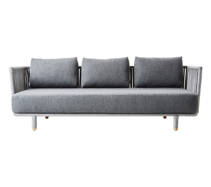Picture of Moments 3-seater sofa, incl. Grey cushion set