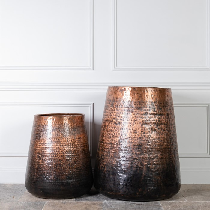Picture of SAMAR Indian Copper Tower Planter