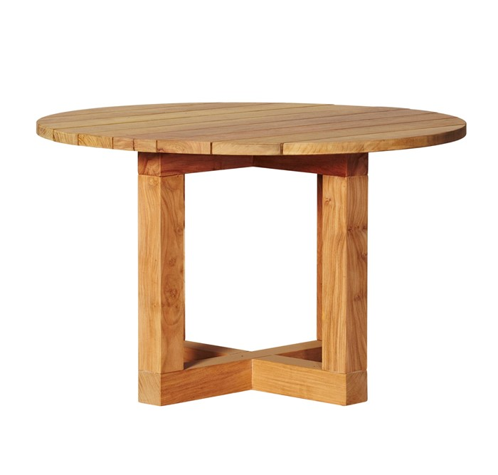 Picture of Chunky Round Dining Table