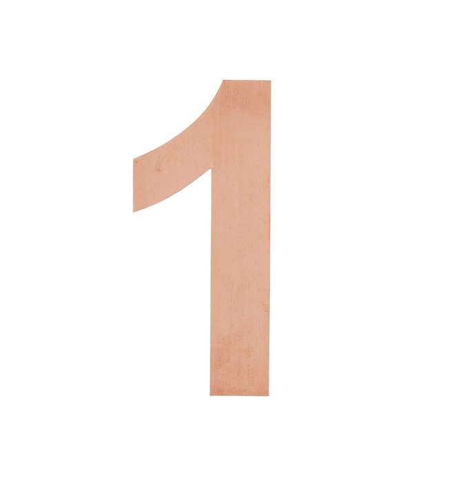Picture of Numbers & Letters Copper