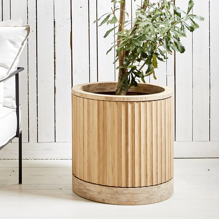 Picture of Bamboo Round Pleat ARD Pot