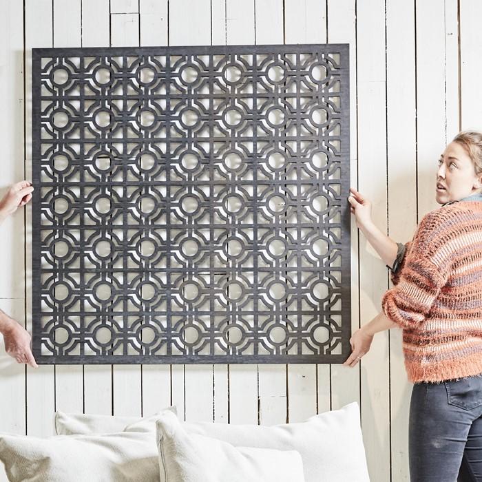 Picture of Bamboo Pleat 'Hari' Design Screen
