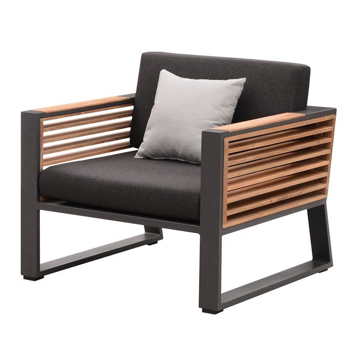 Picture of Caribbean Club Chair in Charcoal