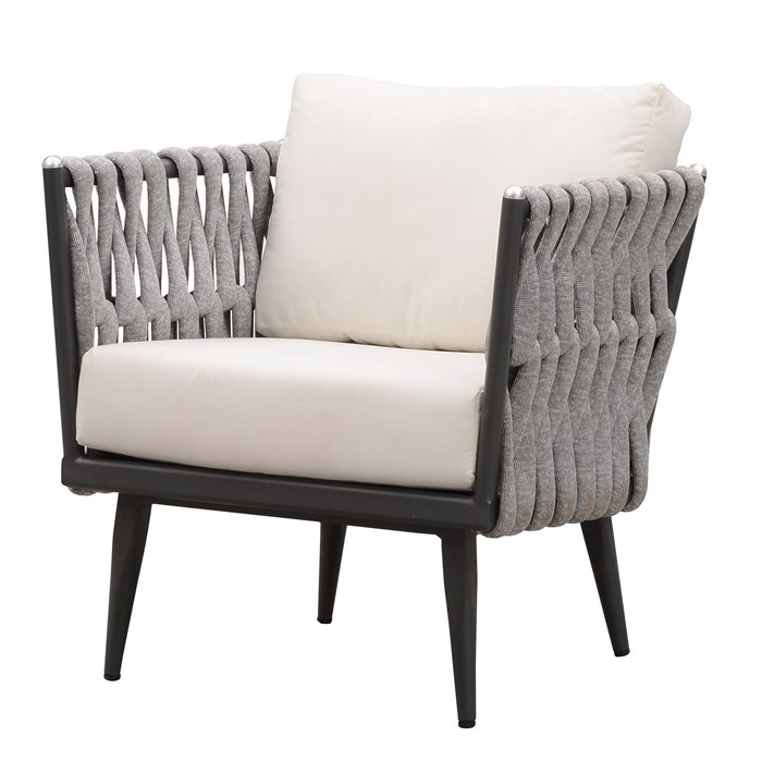 Picture of Crown Club Chair in Charcoal